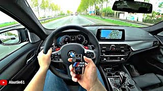 The BMW M5 F90 2019 - IS THE BEST SOUNDING M5 EVER - POV REVIEW and TEST DRIVE