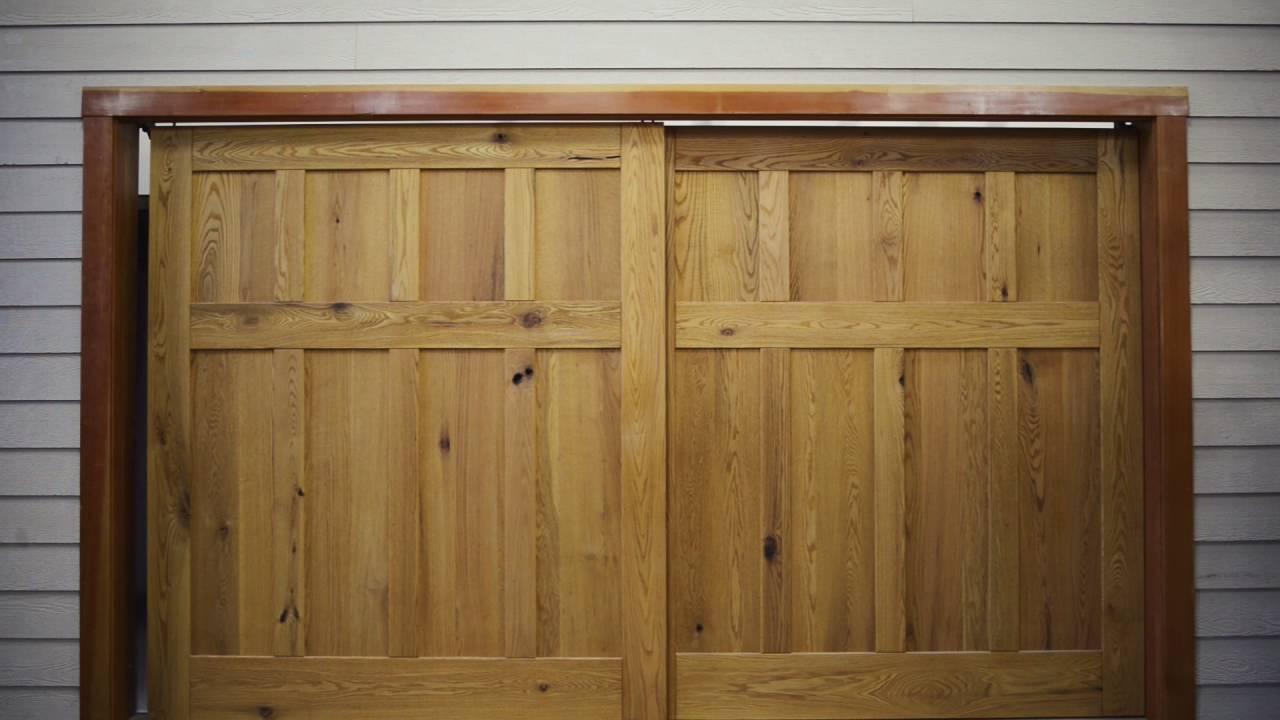 Bypass Sliding Garage Doors. Best Bifold Garage Doors Bypass Sliding ...