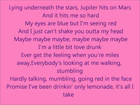 Love Drunk-Little Mix Lyric Video