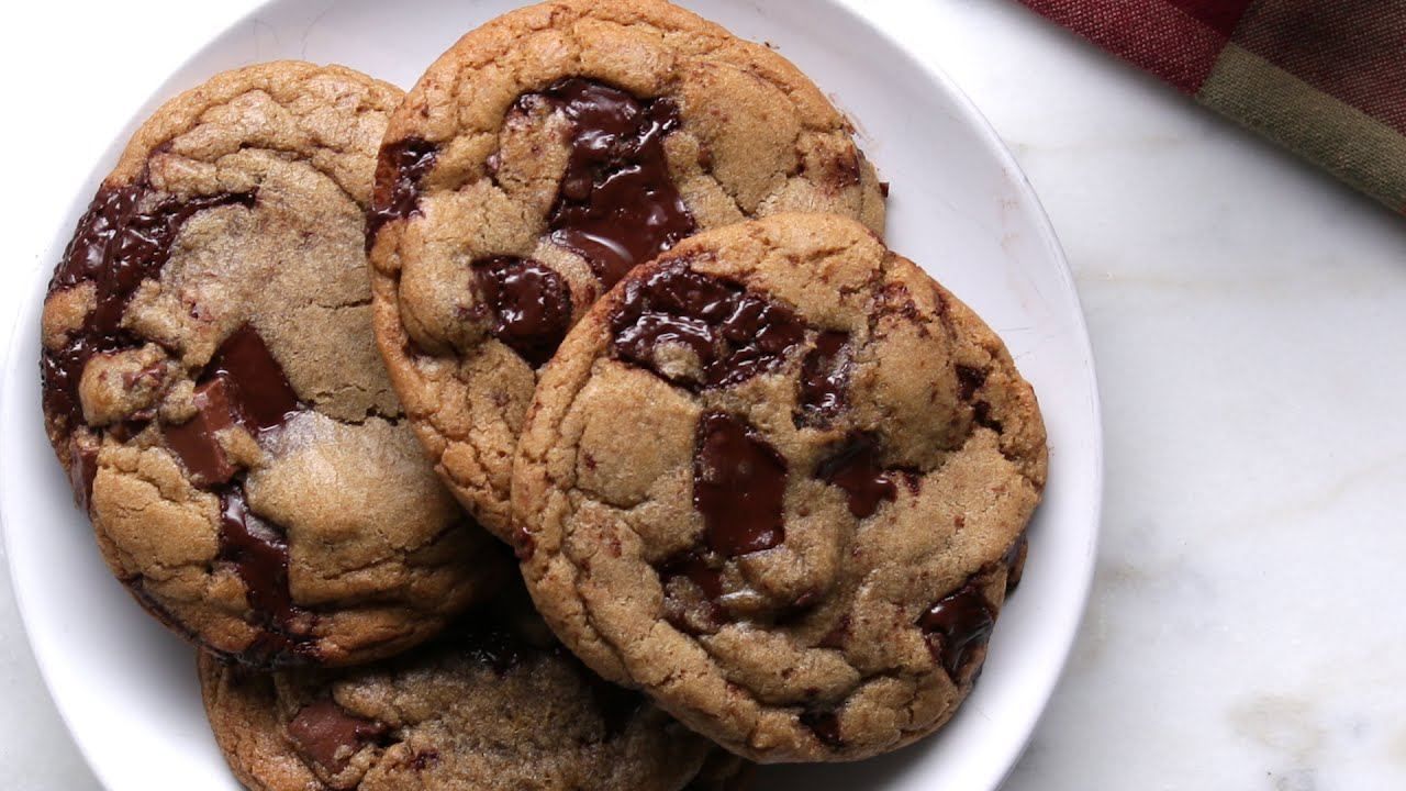Chocolate Chip Nutella Cookies | How Tasty Channel