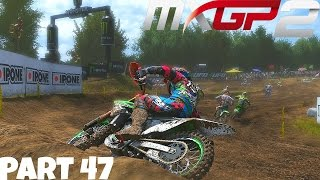 MXGP 2 - The Official Motocross Videogame! - Gameplay/Walkthrough - Part 47 - Giving Up The Lines!