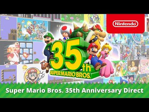 Super Mario Bros. 35th Anniversary Direct (03-09-2020)