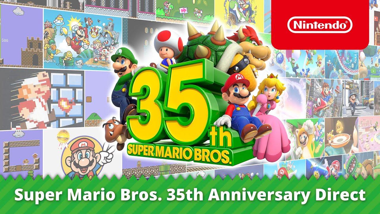 Super Mario Bros. 35th Anniversary Direct (03-09-2020) - YouTube