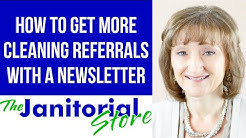 NewzBreak Customer Newsletter for Janitorial Companies