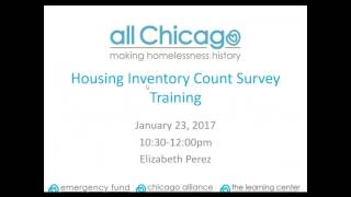 2017 01 23 10 30 2017 Housing Inventory Count Survey Training   RRH   SSVF Providers