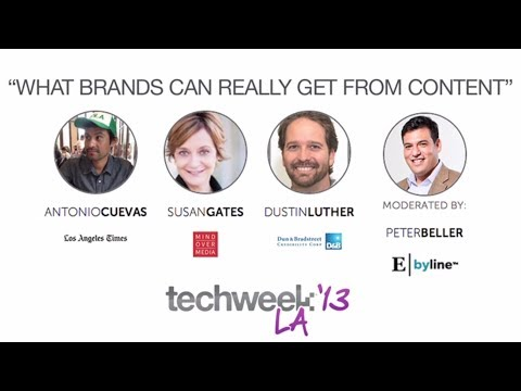 Techweek LA: What can brands really get from content?
