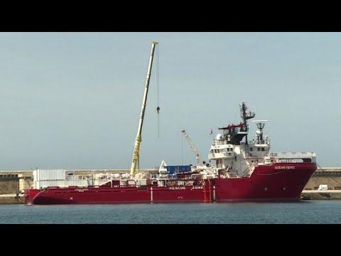 Migrants: l'Ocean Viking, successeur de l'Aquarius sur le départ | AFP News