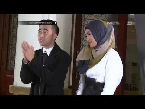 alika-dan-vidi-aldiano-syuting-video-klip-duet-religi-perdana