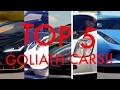 FORZA HORIZON 3:TOP 5 BEST GOLIATH CARS!!
