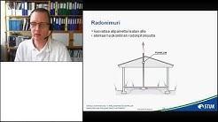 Radon-asukasilta 18.6.2018, erilaiset radonkorjausmenetelmät ja niiden tehokkuus