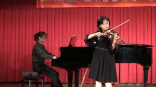 Joanne Tseng, violin, Seitz Konzert concerto no.3, op.12