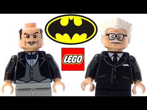 LEGO Alfred Pennyworth Batman Minifigure Collection