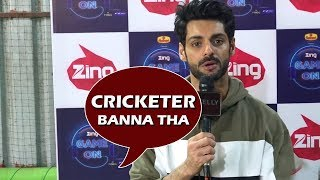 Karan Wahi On Game On, Favourite Sports, Best Cricketer & More| Telly Reporter