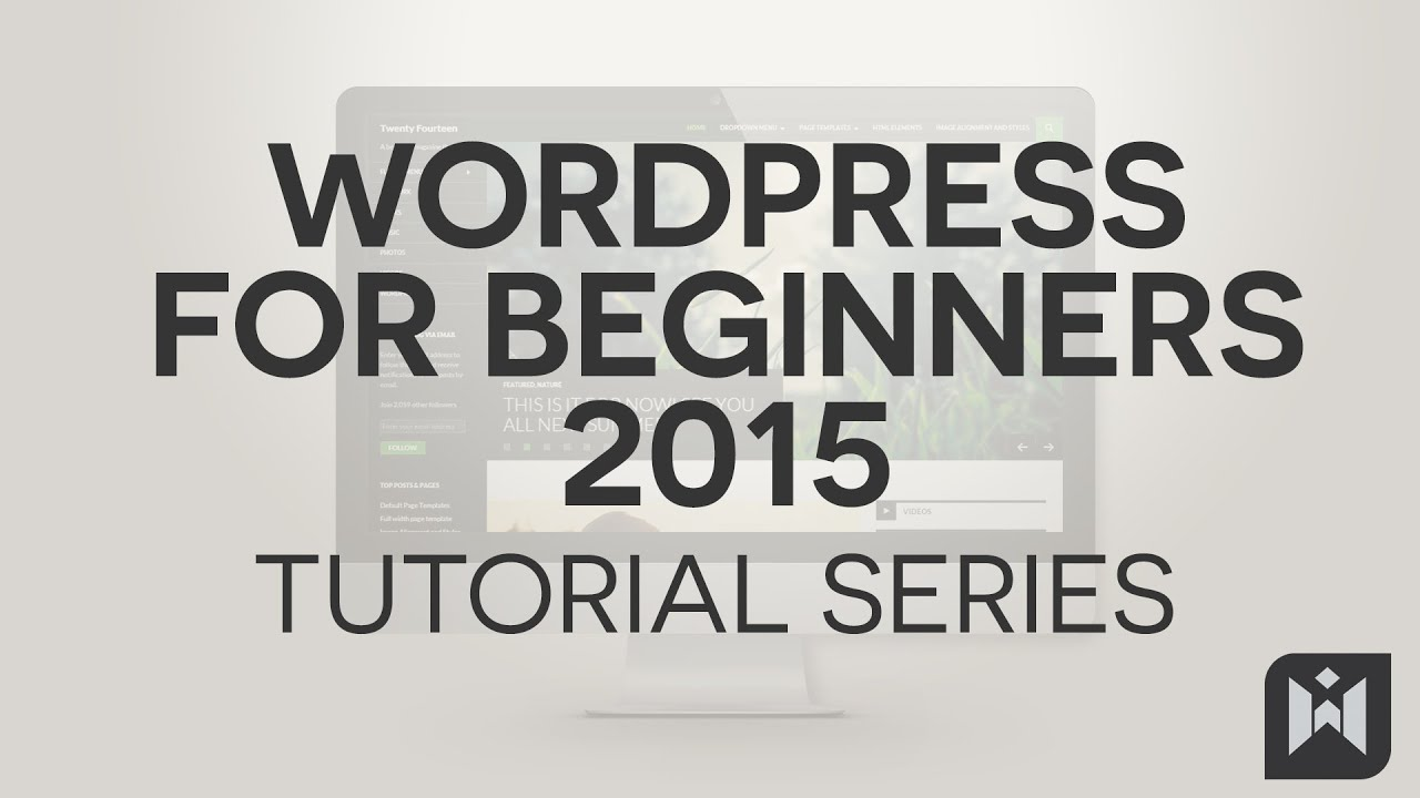 WordPress for Beginners 2015