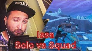 Issa - Solo vs Squad 30 Kills Reaction