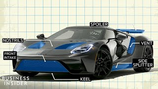 How The Ford GT Was Aerodynamically Designed | The Car Design Show
