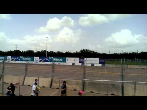 2014 INDYCAR FLY BY Grand Prix of Houston Race 2 Sights and Sounds