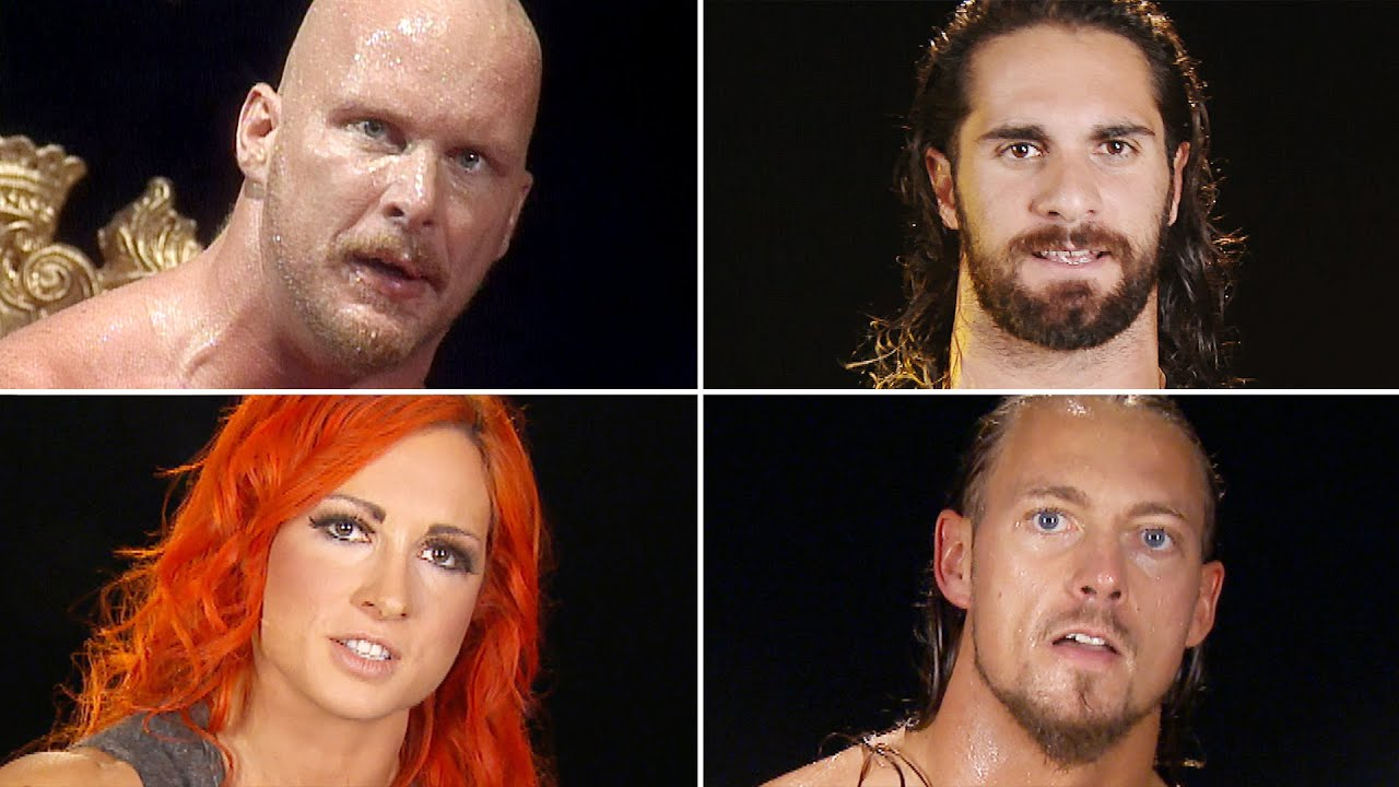 Superstars reenact Stone Cold's famous