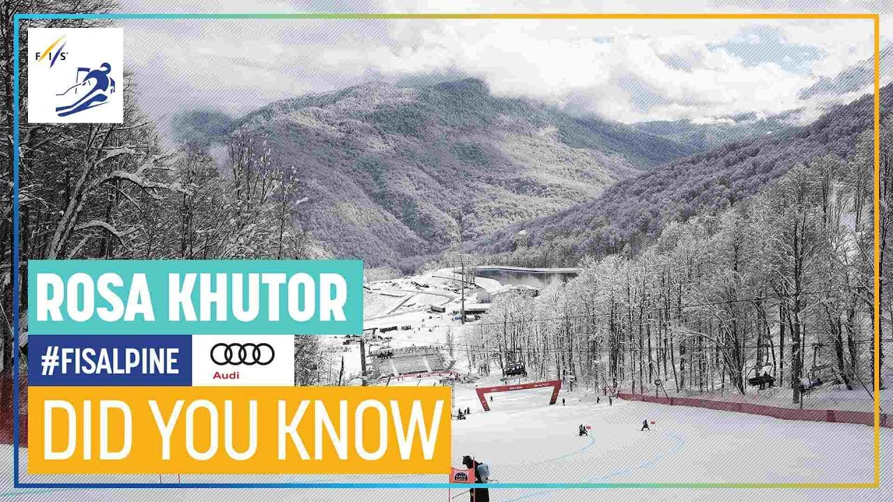 Did You Know | Rosa Khutor | Women | FIS Alpine