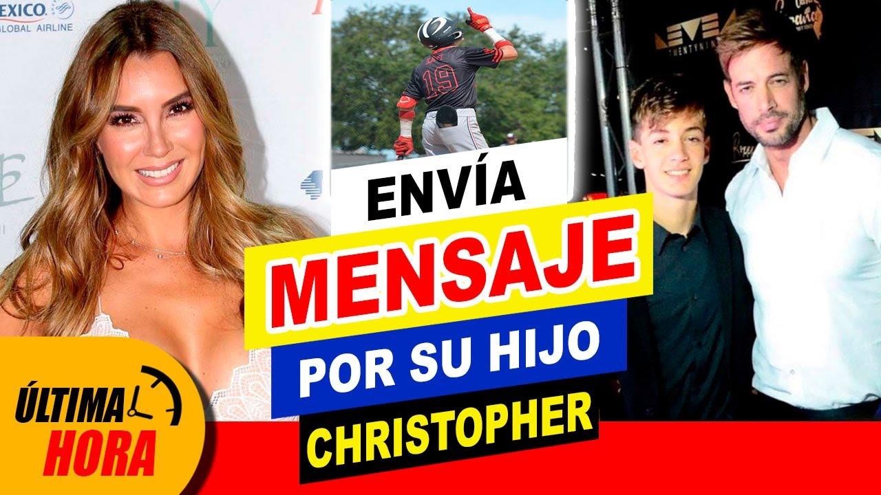 🚨❤️ ¡ Esposa de William Levy 👉 REAPARECE para AGRADECER apoyo a Christopher Levy ‼️