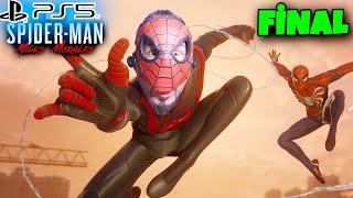 SPIDERMAN 3 KERE BİTTİ! FİNAL BOSS SEVGİLİ | PS5 SPIDER-MAN MILES MORALES FİNAL BÖLÜM
