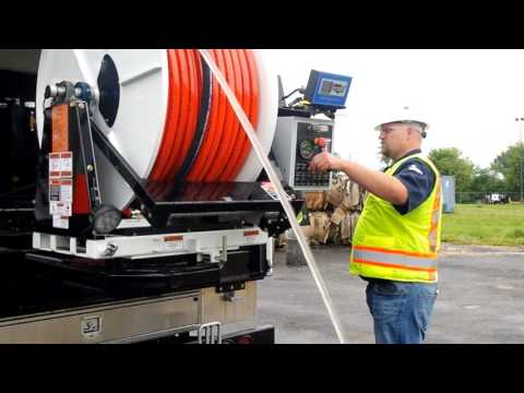 Sewer Jetting Truck Winterization - 800 Series By Sewer Equipment Co. Of America