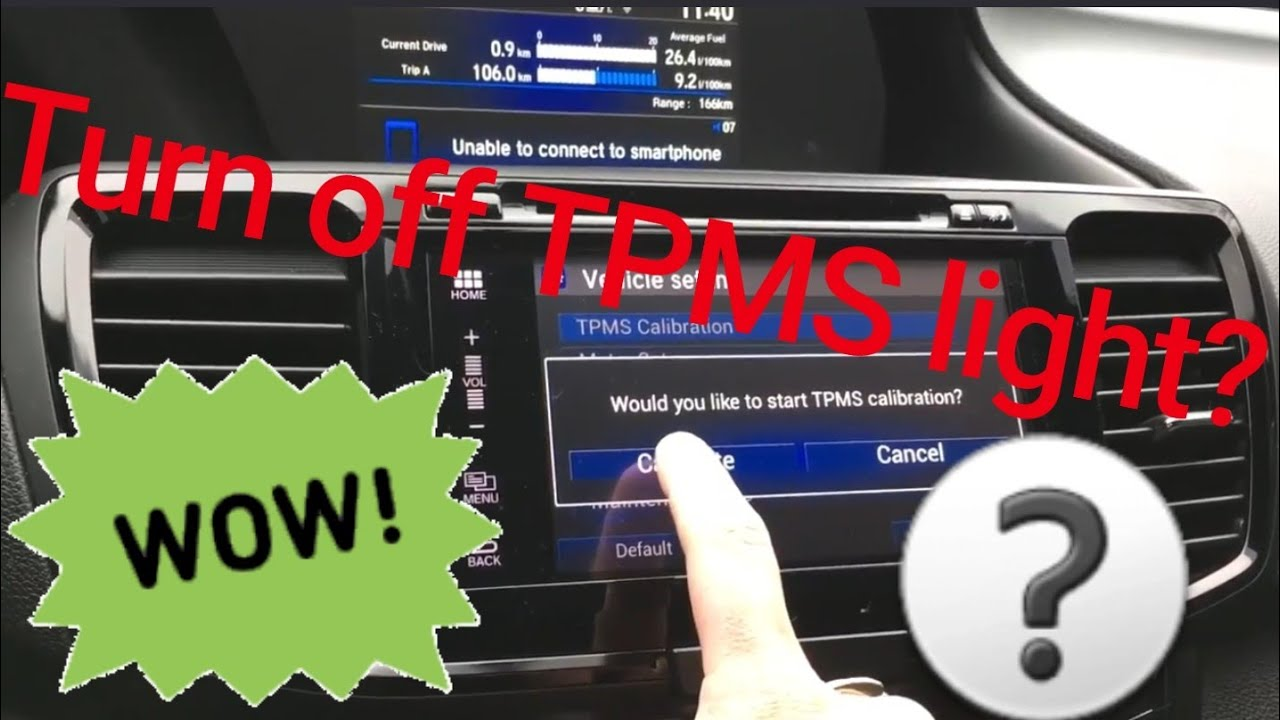 how to reset tpms low tire pressure light 2013 2017. Black Bedroom Furniture Sets. Home Design Ideas