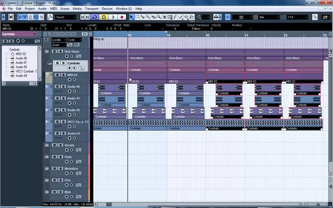 How to make uplifting trance in cubase with bjorn akesson.