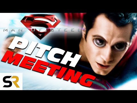 Man Of Steel Pitch Meeting