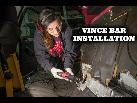 BMW E46 Rear Reinforcement Vince Bar Installation: Part 2