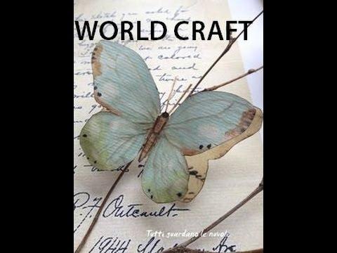 Beautiful Paper Butterfly : World Craft