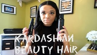 Kardashian Beauty Hair Dry Oil and Dry Conditioner Review