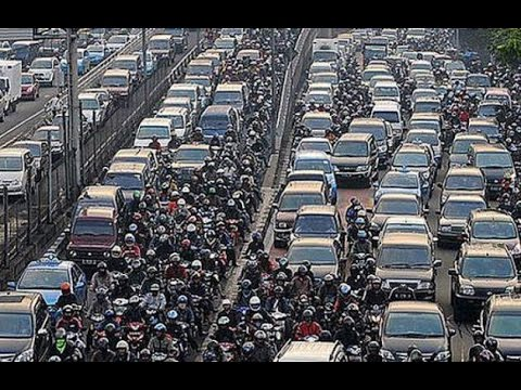Jakarta Rush Hour Traffic POV - Kawasaki Ninja 250 / 300 | Motorcycle Ride by Guntur Wibowo