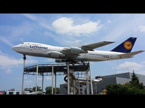 Rotterdam EHRD to Speyer EDRY visiting Technik museum