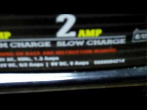 12 volt battery charger repair.