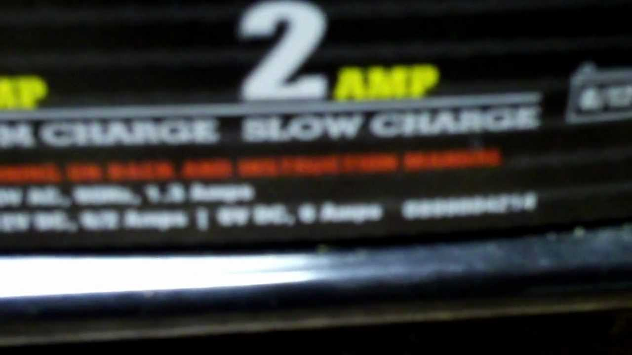 maxresdefault 12 volt battery charger repair youtube Sears Battery Charger at nearapp.co