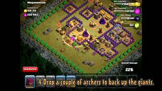 Clash Of Clans Level 48   Mega Mansion