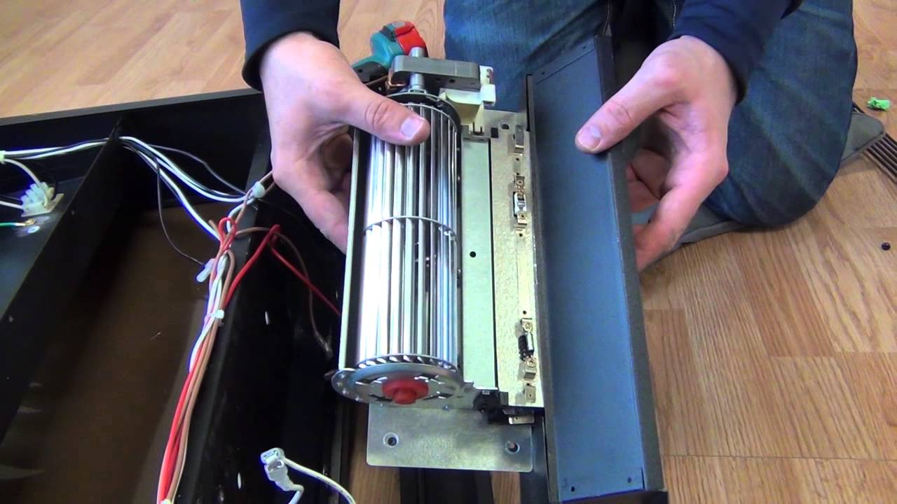 Fireplace Insert Heating Element Youtube