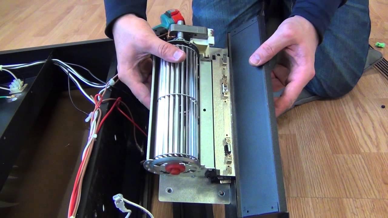 Fireplace Insert Heating Element  YouTube