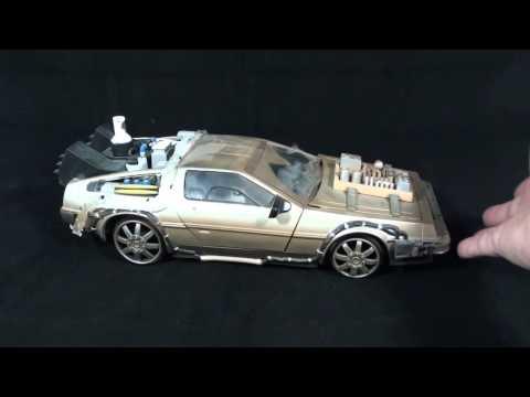 Turmoil In The Toybox - Diamond Select Back To The Future Part III Delorean Replica