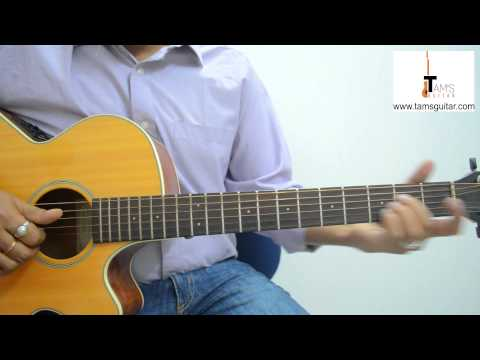 Love is a waste of time (Pk) guitar lesson fingerstyle (www.tamsguitar.com)