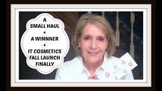 Small Haul + Winner +  IT Cosmetics Fall Launch Finale
