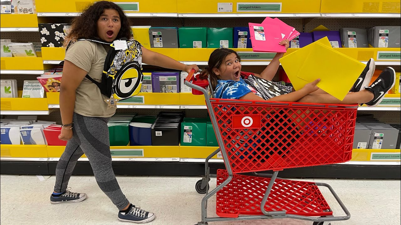 Back to School Shopping at Target 2021! New School Supplies