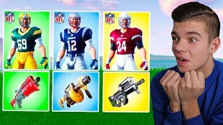 LOSOWY *NFL* SKIN Challenge w Fortnite Battle Royale