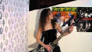 Slayer Angel Of Death Guitar Cover Kerry Solos