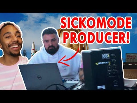 MEETING TRAVIS SCOTTS - SICKO MODE PRODUCER