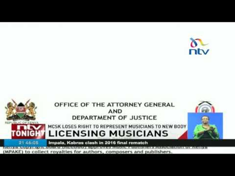 MCSK loses right to represent musicians to new body
