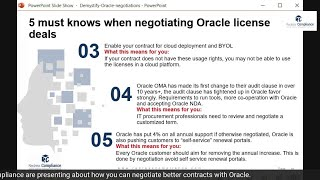 5 must knows when negotiating Oracle licensing agreements