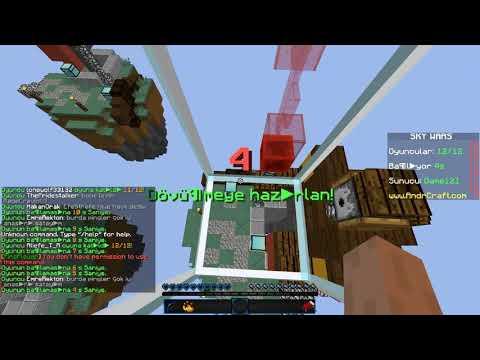 Minecraft SkyWars #1 | Laglarla Dolu Oyun.