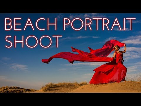 Portrait shoot on the beach | Formby